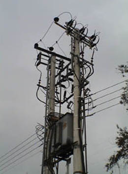Column of PPC with transformer